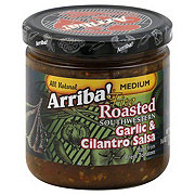 Arriba! Fire Roasted Southwestern Garlic and Cilantro Medium Salsa