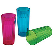 Arrow 30oz Plastic Rainbow Tumbler, Assorted Colors