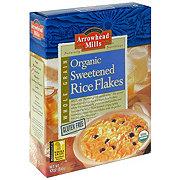 Arrowhead Mills Organic Sweetened Rice Flake Cereal