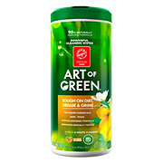 Art of Green Citrus White Flowers Cleaning Wipes