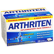 Arthriten Maximum Strength Inflammatory Pain Formula Coated SpeedCaps