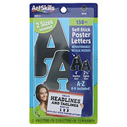 ArtSkills Black Combo Pack Self Stick Poster Letters