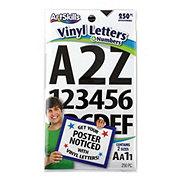 ArtSkills Black Vinyl Letter Stickers