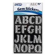 ArtSkills Silver Gem Letter Stickers