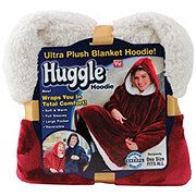 As Seen On TV Huggle Hoodie Burgandy