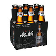 Asahi Super Dry Beer 12 oz Bottles