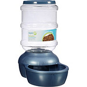 Aspen Pet Peacock Blue Le Bistro 5 LB Feeder