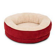 Aspen Pet Products 20 Inch Structured Round Pet Bed