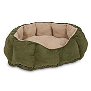 Aspen Pet Products 34 Inch x 27 Inch Overstuffed Oval Pet Bed