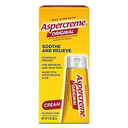 Aspercreme Odor Free Pain Relieving Creme Maximum Strength