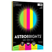 Astrobrights Copy Paper Primary Colors