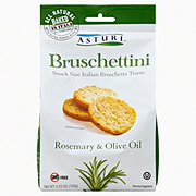 Asturi Bruschettini Rosemary Olive Oil Italian Toasts