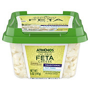 Athenos Fat Free Feta Cheese Crumbles