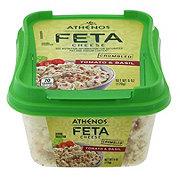 Athenos Feta Cheese Crumbled Basil & Tomato