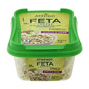 Athenos Feta Cheese Crumbled Garlic & Herb