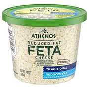 Athenos Reduced Fat Feta Cheese Crumbled