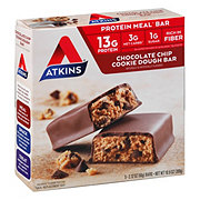Atkins Advantage Chocolate Chip Cookie Dough Meal Bar
