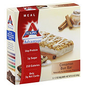 Atkins Advantage Cinnamon Bun Meal Bar