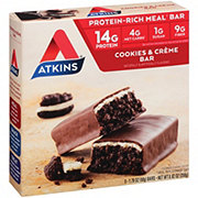 Atkins Advantage Cookies N' Creme Meal Bar