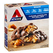Atkins Advantage Snack/Light Meal Caramel Chocolate Nut Roll
