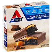 Atkins Advantage Snack/Light Meal Caramel Double Chocolate Crunch Snack Bar