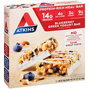 Atkins Blueberry Greek Yogurt Meal Bar