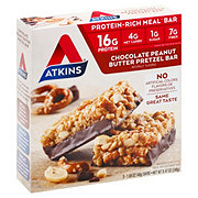 Atkins Chocolate Peanut Butter Pretzel Meal Bar