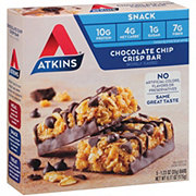 Atkins Day Break Snack/Light Breakfast Chocolate Chip Crisp Bar