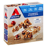 Atkins Day Break Snack/Light Breakfast Cranberry Almond Bar