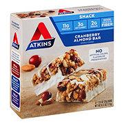 Atkins Day Break Snack/Light Breakfast Cranberry Almond Bar