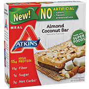 Atkins Meal Bar Almond Coconut Bar