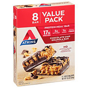 Atkins Meal Bar Value Pack Chocolate Chip Granola Bar