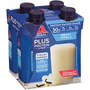 Atkins Plus Protein & Fiber Creamy Vanilla