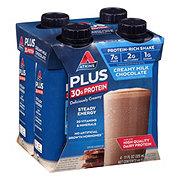 Atkins Plus Protein & Fiber Creamy Milk Chocolate Shake 4 pk