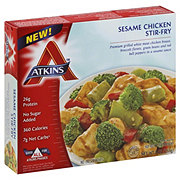 Atkins Sesame Chicken Stir-Fry