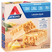 Atkins Snack Lemon Bar