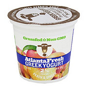 Atlanta Fresh Greek Yogurt Peach Ginger 2%