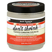 Aunt Jackie's Curls & Coils Shrink Flaxseed Curling Gel