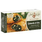 Aunt Trudy's Certified Organic Spinach & Feta Fillo Pocket Sandwich