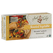 Aunt Trudy's Roasted Vegetable Fillo Pocket Sandwich