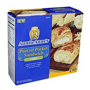 Auntie Anne's 5 Cheese Pretzel Pocket Sandwich