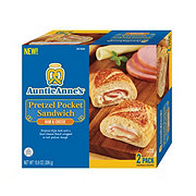 Auntie Anne's Ham & Cheese Pretzel Pocket Sandwich
