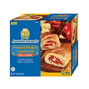 Auntie Anne's Pepperoni Pizza Pretzel Pocket Sandwich