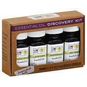 Aura Cacia Discovery Essential Oil Kit of 4