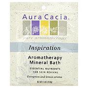 Aura Cacia Inspiring Rosemary Aromatherapy Mineral Bath