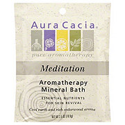 Aura Cacia Meditating Cedarwood Aromatherapy Mineral Bath