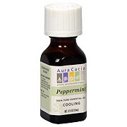 Aura Cacia Pure Aromatherapy Cooling Peppermint 100% Pure Essential Oil