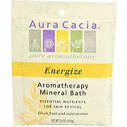 Aura Cacia Pure Aromatherapy Energize Mineral Bath