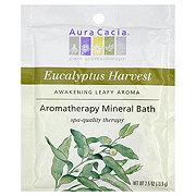 Aura Cacia Pure Aromatherapy  Eucalyptus Harvest Mineral Bath
