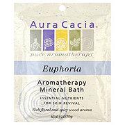 Aura Cacia Pure Aromatherapy Euphoria Mineral Bath